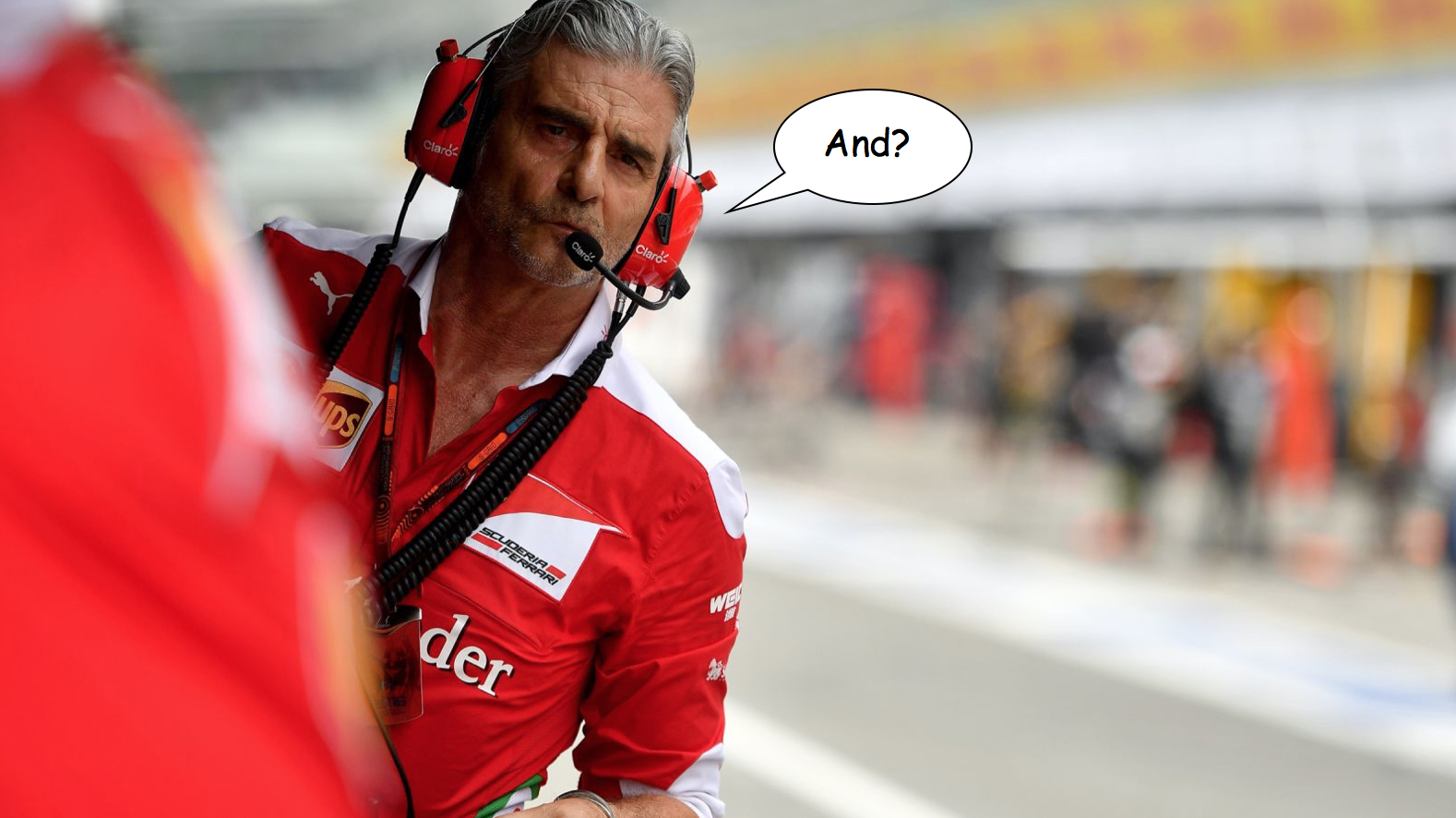Ferrari team order conspiracy theory reaction