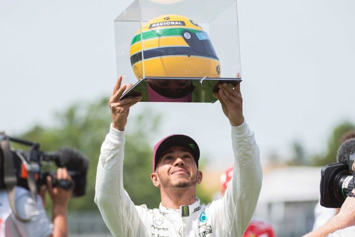 Hamilton presented with massive metaphor