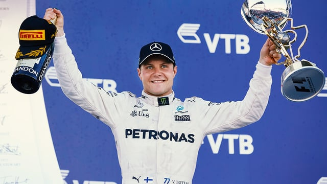 Bottas pretty certain he's won a race