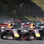 Verstappen finally nails team mate