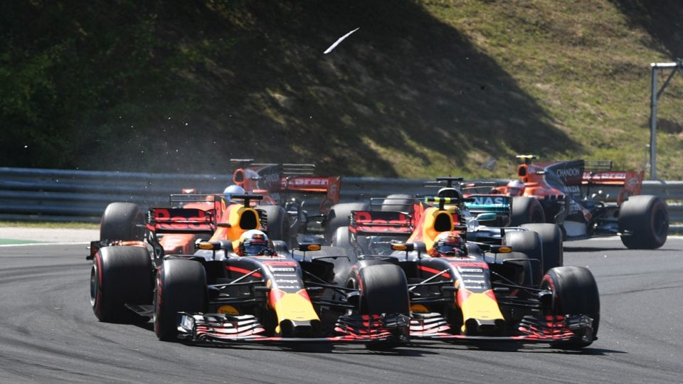 Verstappen finally nails team mate