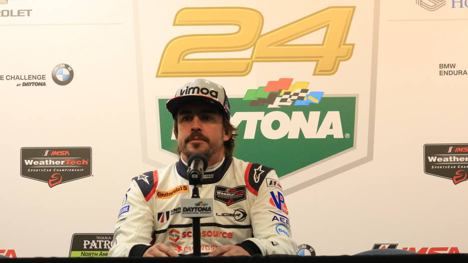 Fernando Alonso Daytona 24, 2018