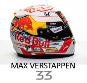 Max Verstappen 2019 Helmet