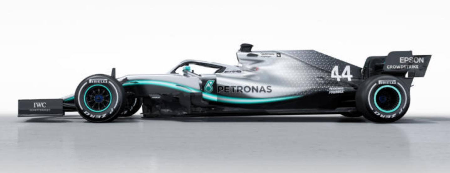 Mercedes W10 F1 2019