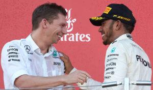 James Vowles Lewis Hamilton