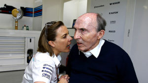 Claire and Frank Williams
