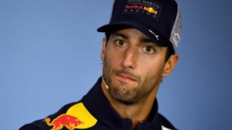 Ricciardo wakes up from summer break trying to remember what the fuck he's done