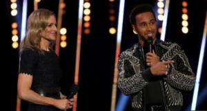 Lewis Hamilton calls Stevenage slums in SPOTY ceremony