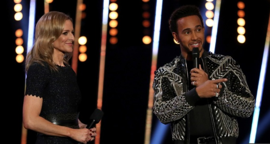 Lewis Hamilton calls Stevenage slums in SPOTY ceremony