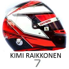 Kimi Raikkonen 2019 helmet
