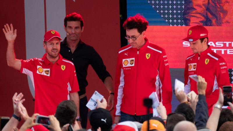 Ferrari insist everyone come down to their level