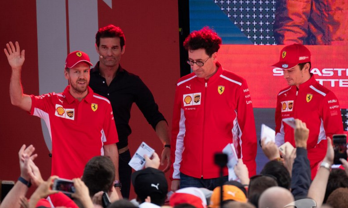 Ferrari insist everyone come down to their level
