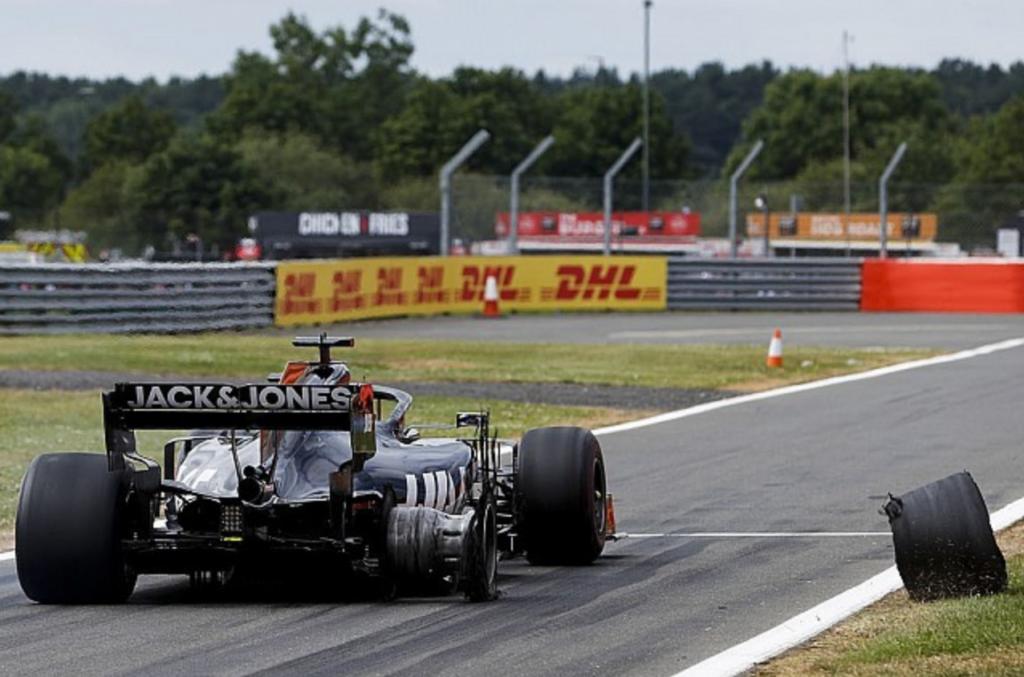 Romain Grosjean Haas Silverstone 2019