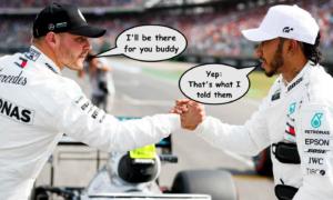 Mercedes confirm 2020 Hamilton Title