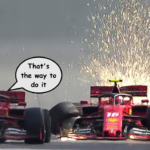 Ferrari start panto season early