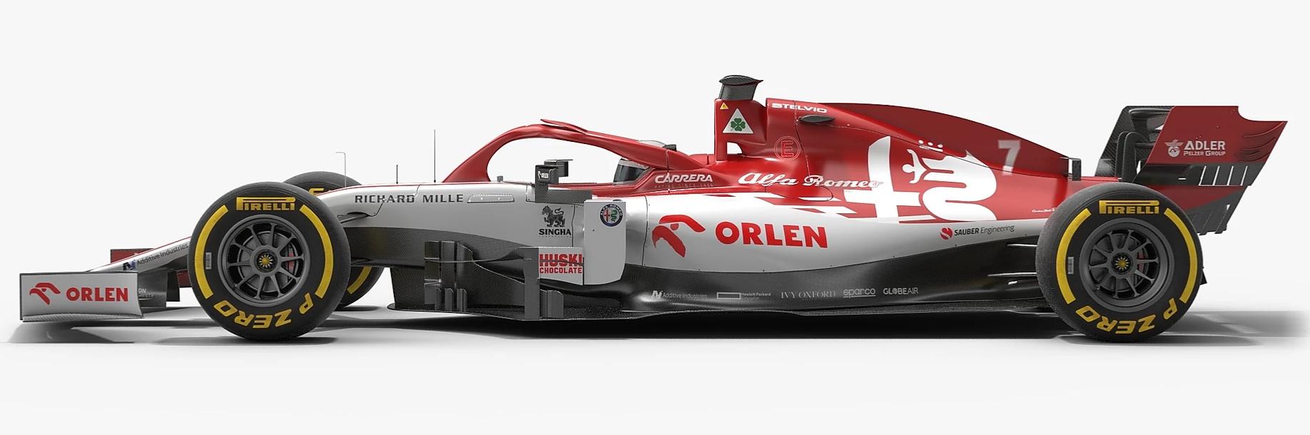 Alfa Romeo C39 car F1 2020 season