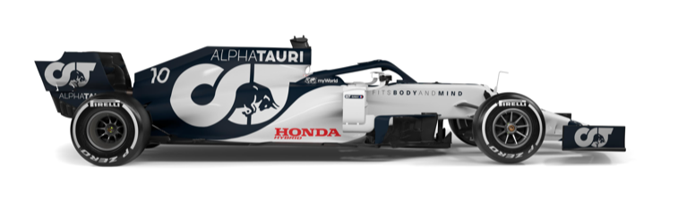 AlphaTauri AT01 2020 F1 car
