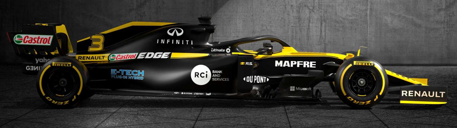 Renault RS20 F1 car - 2020 season