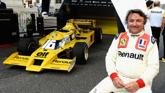 Rene Arnoux Renault RS01