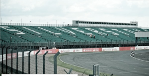 Silverstone Empty of spectators