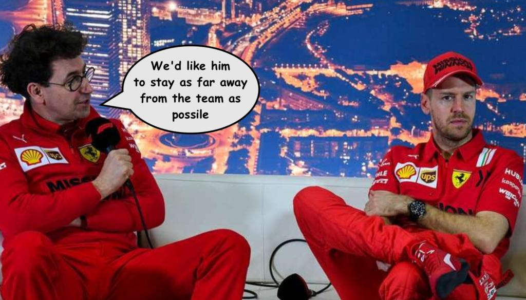 Ferrari Social Distancing Latest
