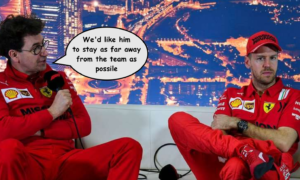 Ferrari Social Distancing Latest