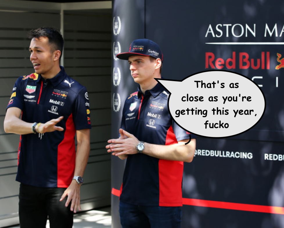 Red Bull Social Distancing Latest