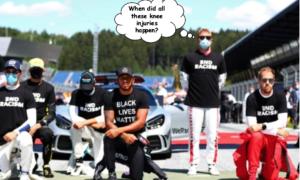 Black Lives Matter Raikkonen commitment questioned